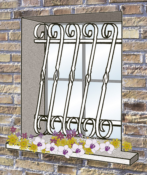 Accessoires et poignées de fenêtres et portes-fenêtres