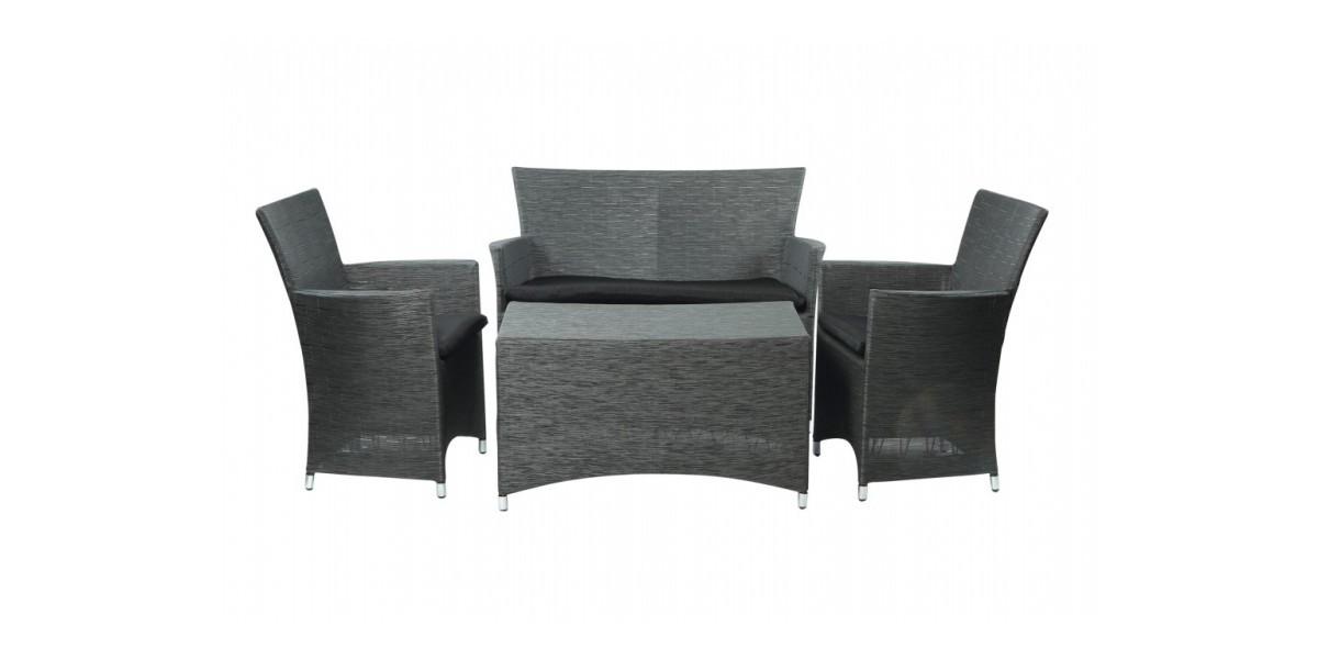 beautiful salon de jardin pvc tresse images awesome interior home satellite. Black Bedroom Furniture Sets. Home Design Ideas