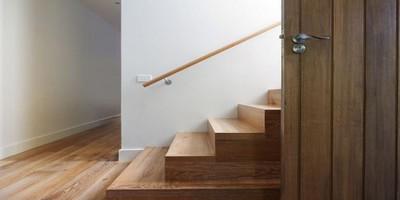 escalier bois inox droit colima on h lico dal pas cher sainthimat. Black Bedroom Furniture Sets. Home Design Ideas