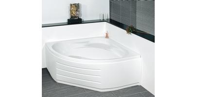 baignoire lot pied baln o angle fonte acier pas cher. Black Bedroom Furniture Sets. Home Design Ideas