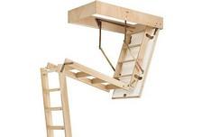 Escaliers escamotables et échelles