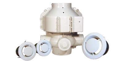 Ventilation Mécanique Contrôlée (VMC)