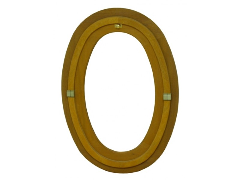 oeil de b uf bois ovale h65xl50cm pas cher achat vente en ligne. Black Bedroom Furniture Sets. Home Design Ideas