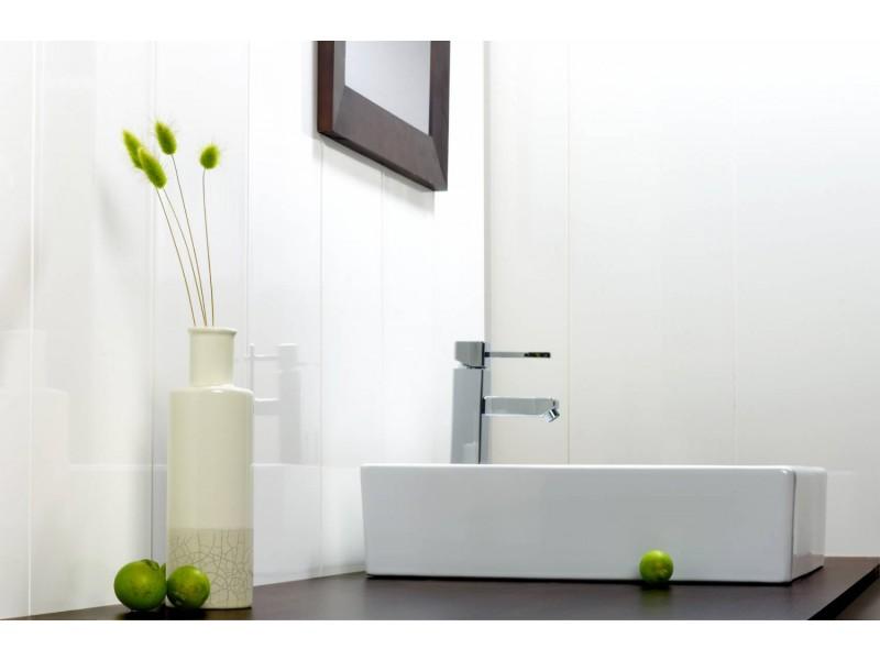 lambris pvc blanc laqu. Black Bedroom Furniture Sets. Home Design Ideas