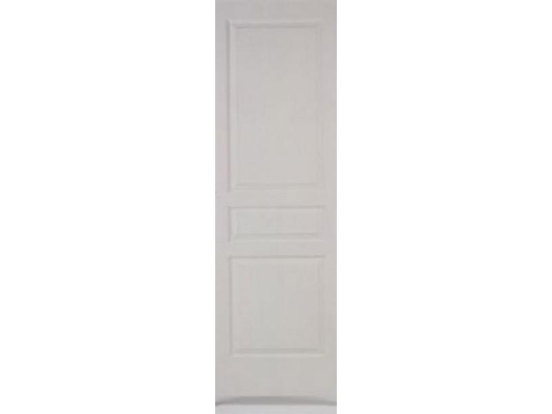 Porte seule pr peinte post form e h204xl83cm for Porte post formee