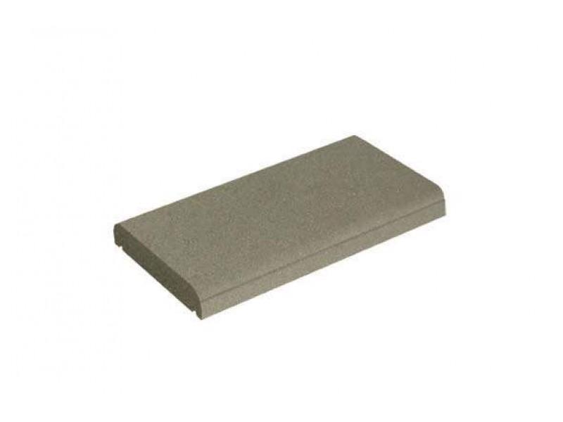 couvre mur plat ton gris h5xl50xl27cm. Black Bedroom Furniture Sets. Home Design Ideas