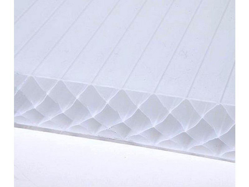 plaque polycarbonate 32 mm opale 4 x m. Black Bedroom Furniture Sets. Home Design Ideas