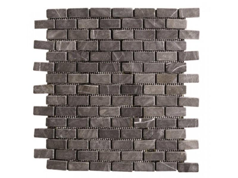 galet pour sol et mur intrieur 30x30 gris