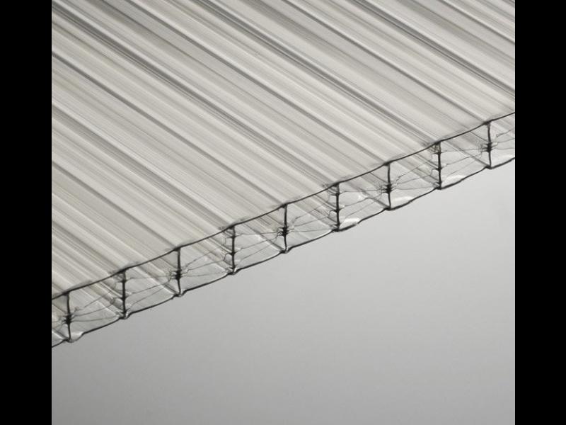 plaque polycarbonate 16 mm translucide 5 x m pas. Black Bedroom Furniture Sets. Home Design Ideas