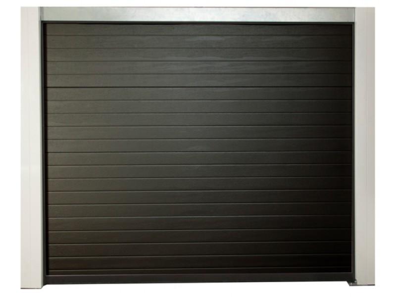 porte de garage motoris e pr mont e h200xl240cm pas cher achat vente en ligne. Black Bedroom Furniture Sets. Home Design Ideas