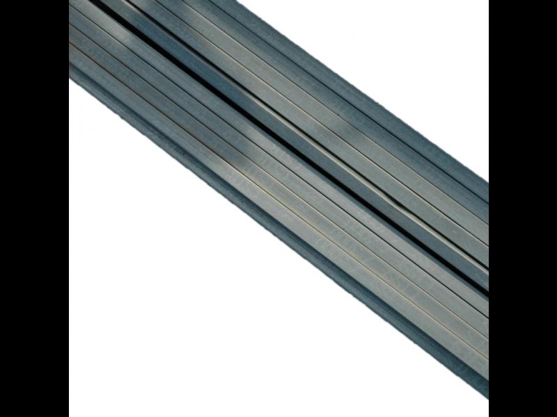Lisse En Metal 20 X 24mm Longueur 3 Metres