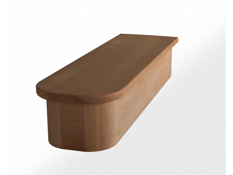 socle en h tre 1 2 royal pour surr l vation escalier profondeur 30 cm. Black Bedroom Furniture Sets. Home Design Ideas