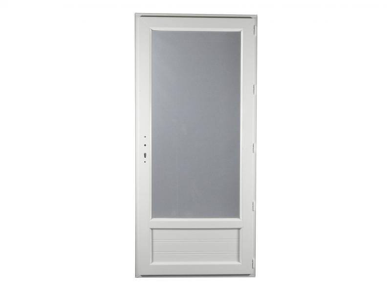 Porte Fenêtre Pvc Gamme Epro 1 Vantail Tirant Droit H 205 X L 80 Cm