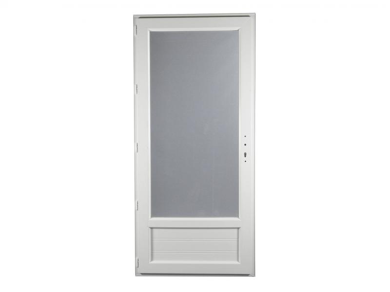 Porte Fenêtre Pvc Gamme Epro 1 Vantail Tirant Gauche H 215 X L 90 Cm