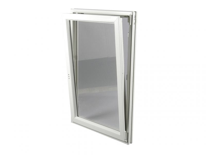 Fenêtre PVC Gamme E.PRO 1 Vantail Tirant Droit Oscillo Battante H 95 X L 60  Cm