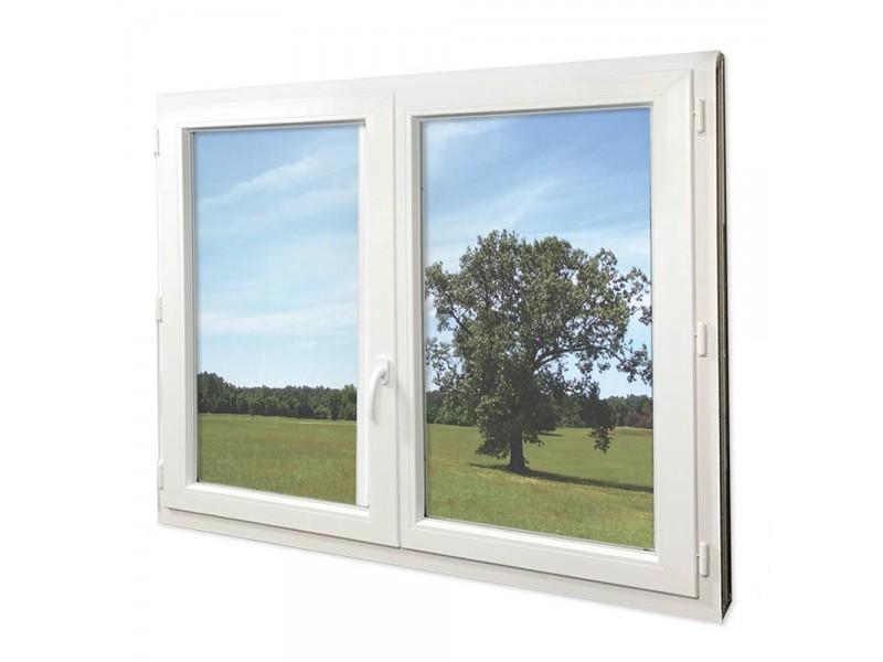 Fenêtre Pvc Gamme Epro 2 Vantaux Oscillo Battante H 105 X L 100 Cm