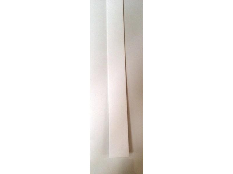 Chant Plat Blanc En Pvc Gamme E Pro Largeur 50 Mm X Longueur 3000 Mm X épaisseur 2 Mm