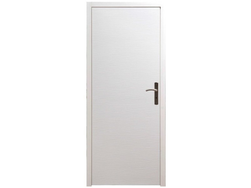 Bloc Porte Intérieur Structuré H204xl73cm Poussant Gauche
