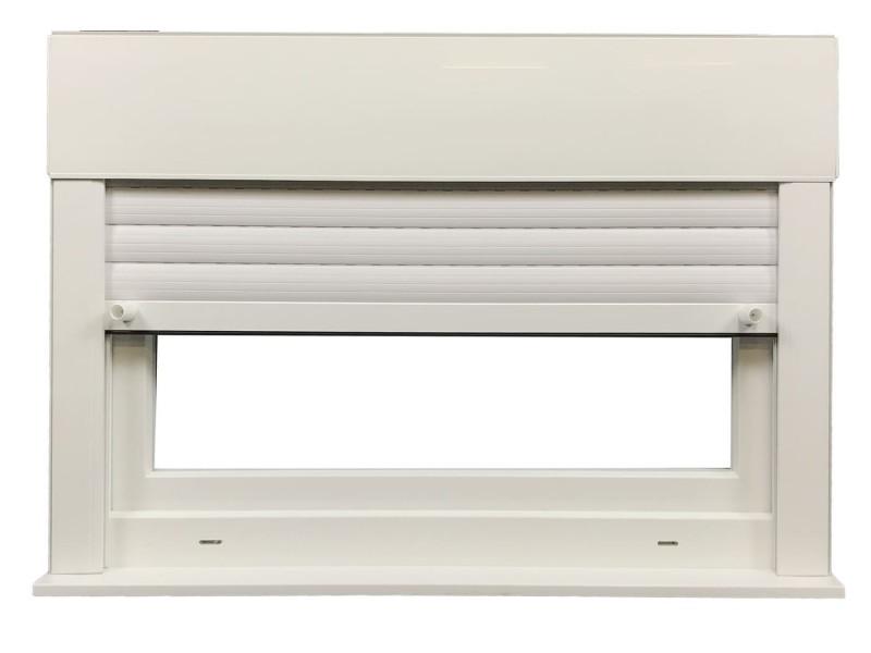 Fenêtre Abattant En Pvc H60xl120cm Volet Roulant Intégré