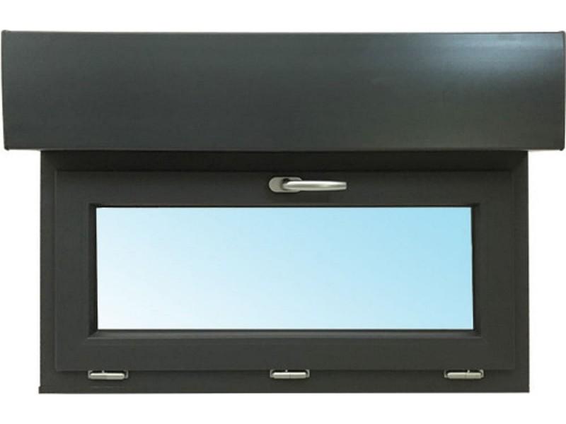 Fenêtre Abattant En Pvc H45xl80cm Volet Roulant Intégré
