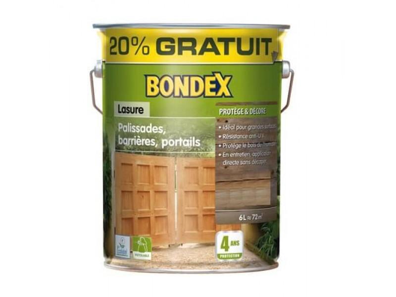 Lasure Bondex Classique 4 Ans Palissades Barrieres Portails