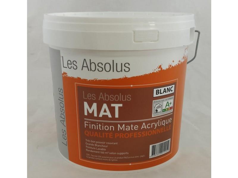 Peinture Acrylique Mat 10 Litres
