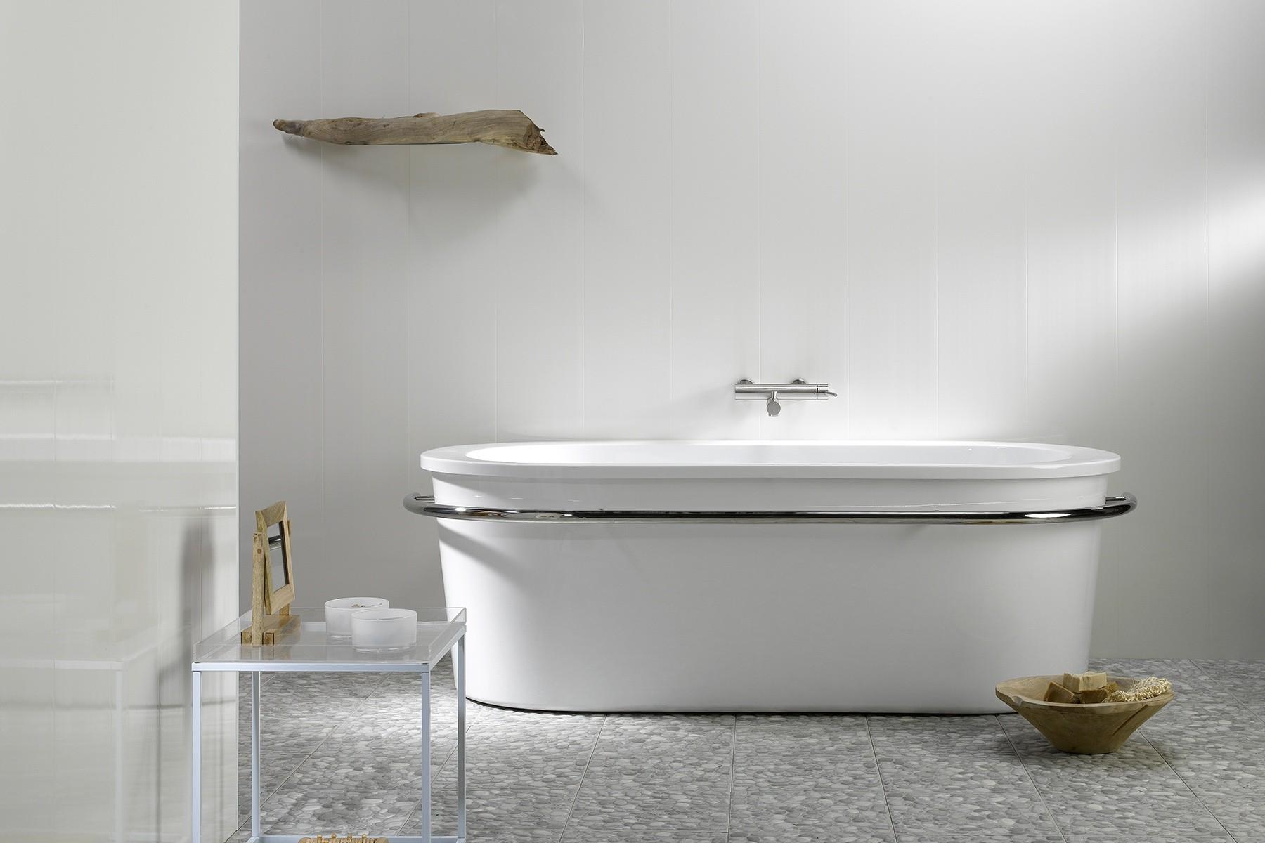Lambris Ceruse Blanc Pas Cher lambris murs et plafonds imperméable blanc 260 x 10 cm