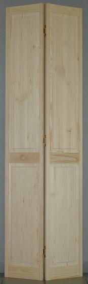 porte de placard pliante pleine pin h205xl71cm. Black Bedroom Furniture Sets. Home Design Ideas