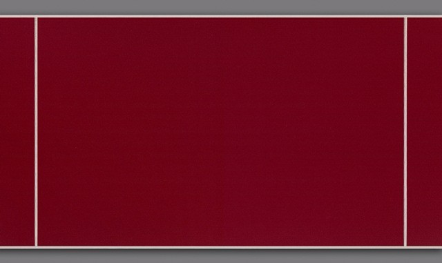 Lambris pvc rouge effet carrelage Lambris mural pvc
