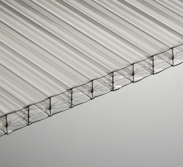 plaque polycarbonate 16 mm translucide 3 x m. Black Bedroom Furniture Sets. Home Design Ideas