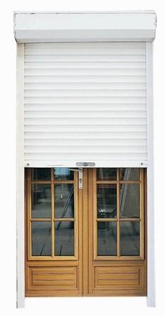 Volet Roulant Pvc Blanc A Sangle H225xl220cm Pas Cher Achat Vente En Ligne