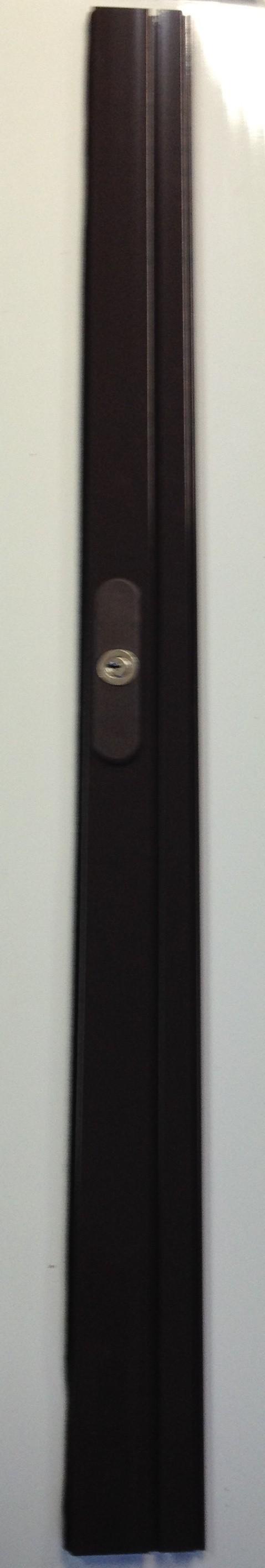 lame finale serrure ext rieure marron l100cm. Black Bedroom Furniture Sets. Home Design Ideas
