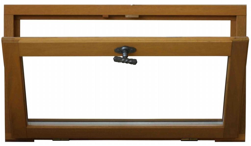 fen tre abattant en bois exotique h45 x l40 cm. Black Bedroom Furniture Sets. Home Design Ideas