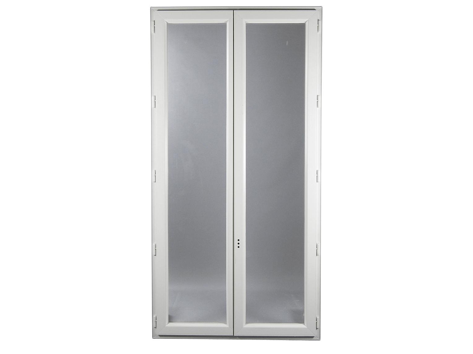Fen tre pvc gamme e pro 2 vantaux h 145 x l 110 cm for Fenetre largeur 160