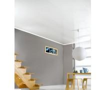 Lambris PVC blanc brillant Longueur 4 m