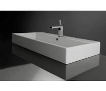 Vasque à poser ou à suspendre, modèle unlimited, 100cm