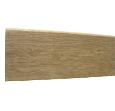 Plinthe bord arrondi en chêne 10X70X2400mm