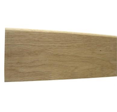 Plinthe bord arrondi en chêne 10X100X2400mm