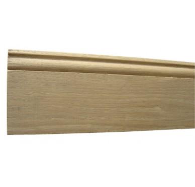 Plinthe bord mouluré en chêne 13X100X2400mm