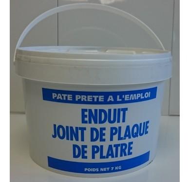 Enduit pâte joint plaque de plâtre 7 KG
