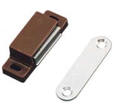 Loqueteau magnétique force 6kg-marron