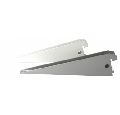 Console double L17cm pas de 32mm laqué blanc