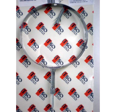 Collier inox Diam 83/200 mm