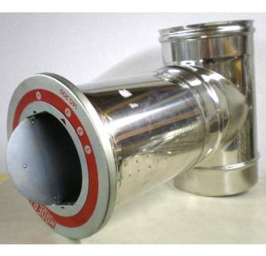 Té modérateur en inox Diam 200 mm
