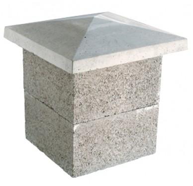 Elément de pilier H20xL26xl26cm