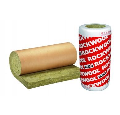 Laine de roche en rouleau Ép.100 mm