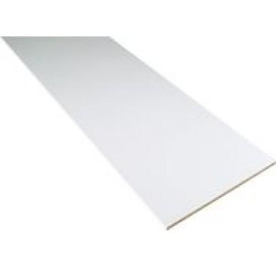 Panneau aggloméré Revêtu blanc