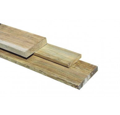 Plancher terrasse petites rainures 1.9 x 9.6 x 240cm