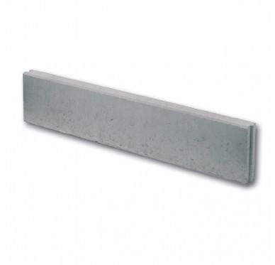 Bordure en béton droite couleur gris