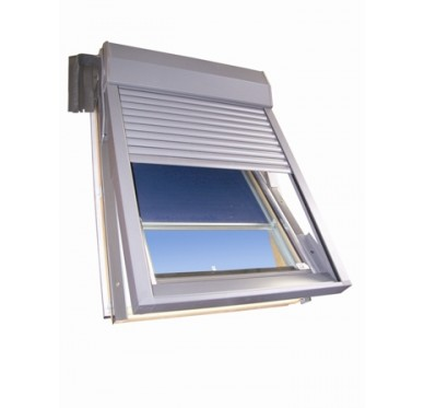 Volet électrique pour fenêtre de toit H98xL78cm